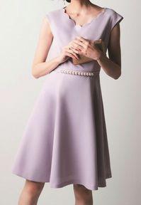 高嶺の花1 芳根京子衣装のラベンダーワンピース