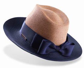 高嶺の花 石原さとみ衣装のネイビーリボン帽子