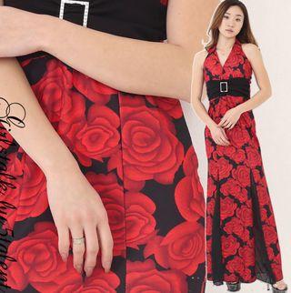 高嶺の花2 石原さとみ衣装の薔薇のドレス