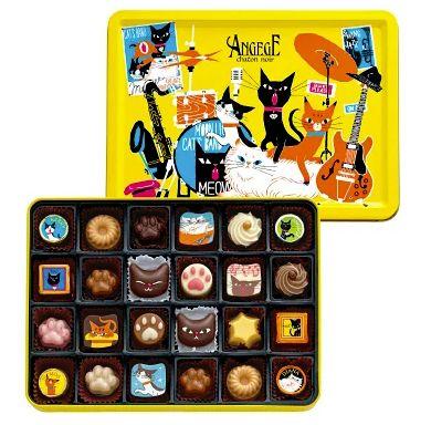 ゴンチャロフ【バレンタイン2019】可愛い猫のチョコは友チョコやご褒美チョコにおすすめ