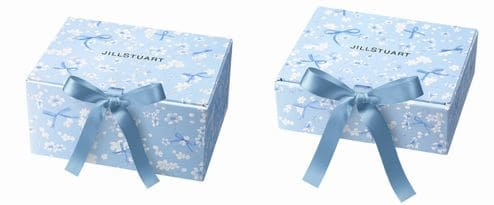 ジルスチュアート2020年発売プレゼントボックス(サムシングピュアブルー20)
