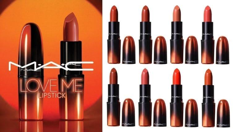 M·A·C(マック)【2021夏コスメ/先行予約開始】ラブミーリップスティックにオレンジの限定8色