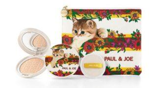 ポール&ジョー【2021夏コスメ/予約先行販売まとめ】可愛い猫の限定プレストパウダー《ポーチ付》