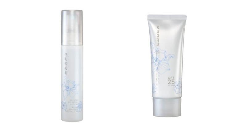 SUQQU(スック)【夏コスメ2021/通販予約情報】純白花の香りの限定ミスト化粧水とボディUV