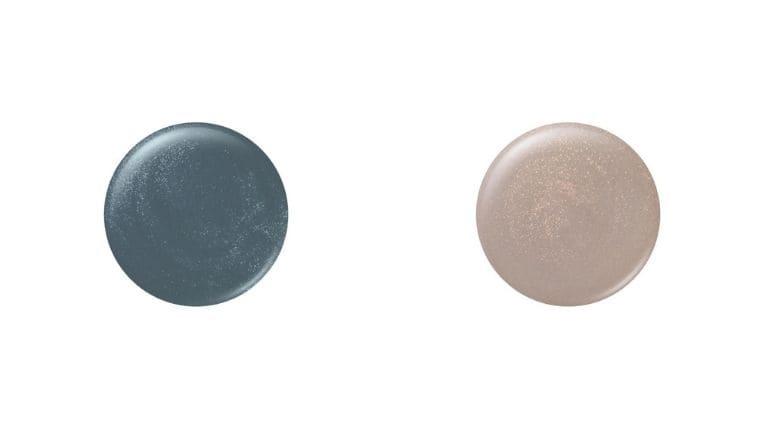 ネイルケア カラー(左から106、107)