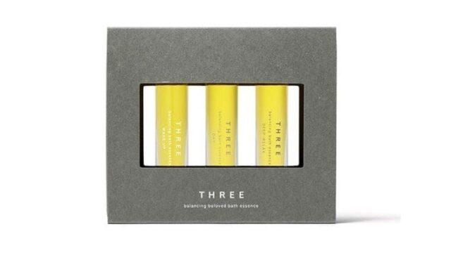 スリー(THREE)【2021クリスマスコフレ《第3弾》/予約情報】3種のバスエッセンスセットが今年も登場