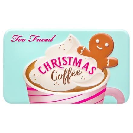 クリスマス コーヒー ミニ アイシャドウ パレット(パッケージ)