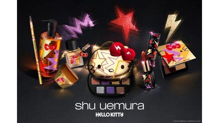 shu uemura×HELLO KITTY『rock the party!~ハローキティと煌めく トウキョウ ロックナイト~』【第2弾】